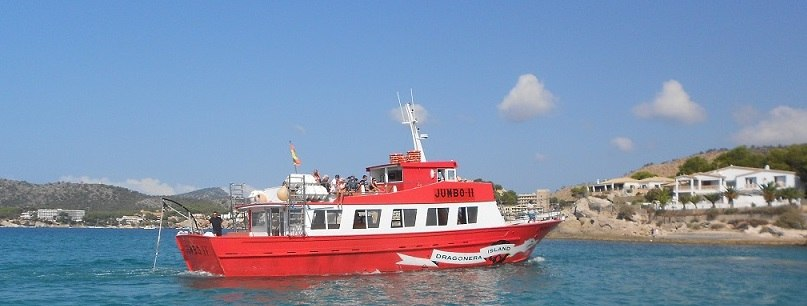 Ausflugsschiff-Paguera-Dragonera-Island