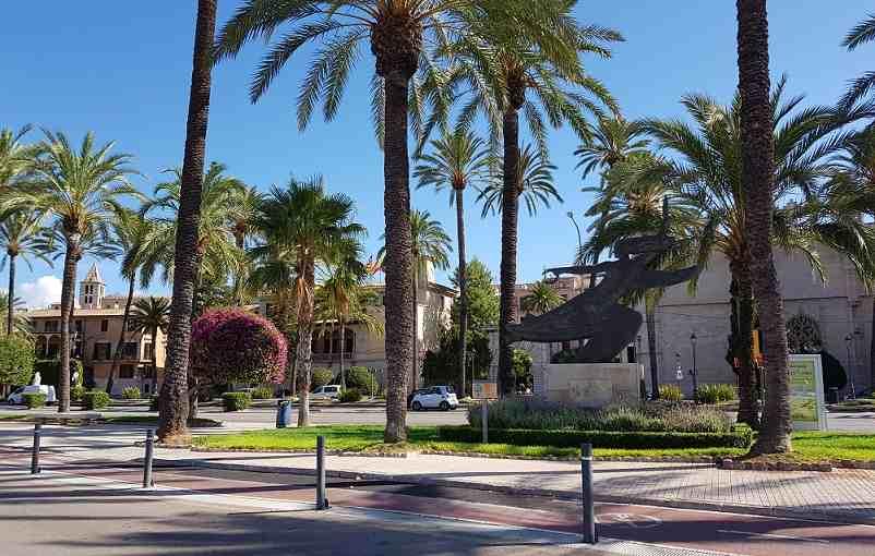 Hauptstrasse-von-palma-palmen-strasse-altstadt