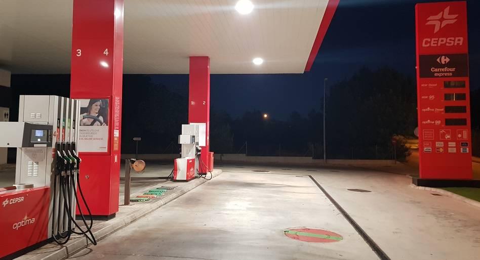 Mallorca-Paguera-Tankstelle-Cepsa