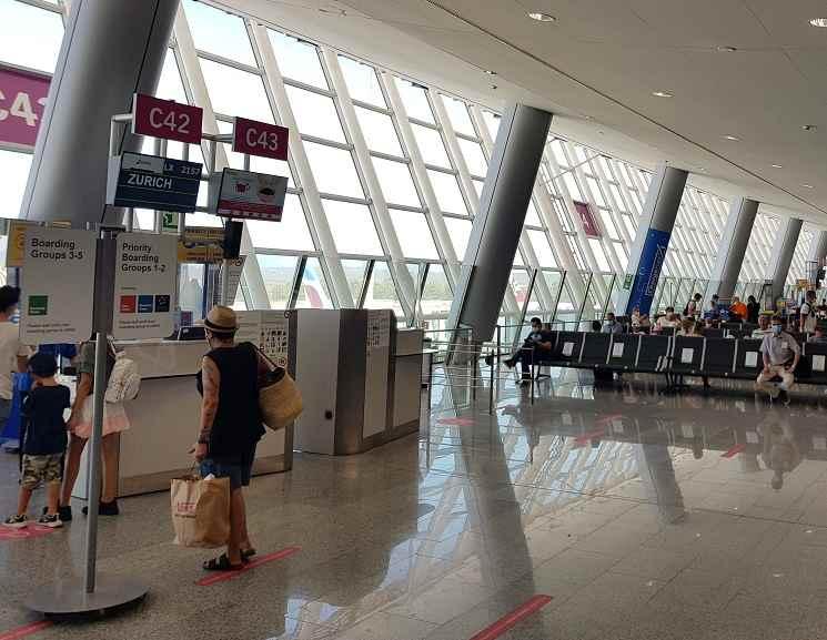 Reisewarnung-Mallorca-Gate-am-Aeropuerto-PMI