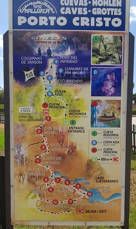 Cuevas-dels-Hams-Porto-Christo-Karte-Informationen-Map