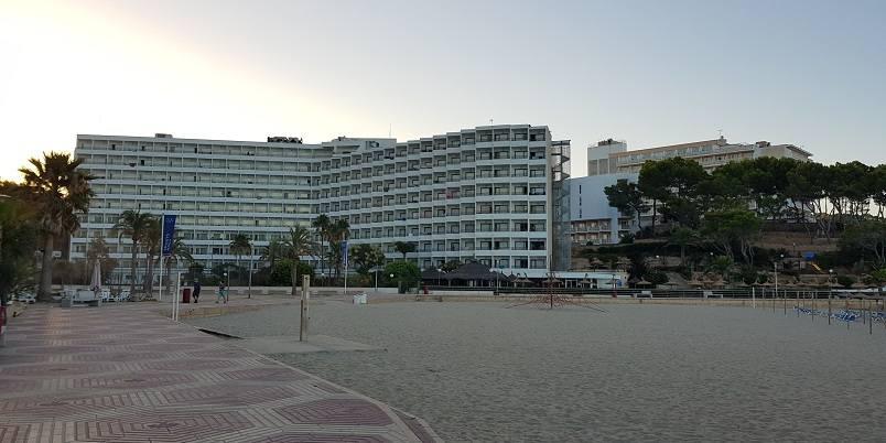 Beverly-Playa-Paguera-vom-Strand-fotografiert