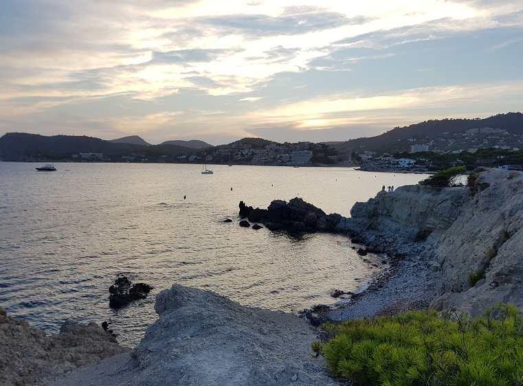 Sonnenuntergang-am-Calo-de-Sa-Romana-Paguera